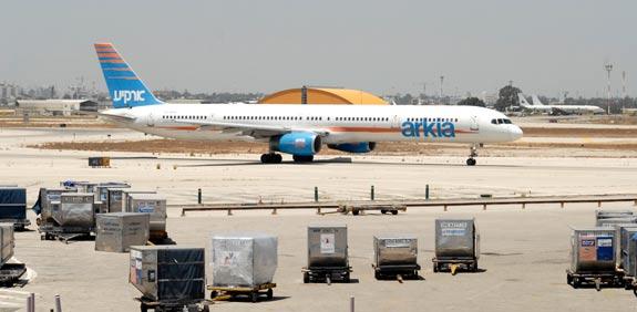 מטוס ארקיע / צלם: תמר מצפי